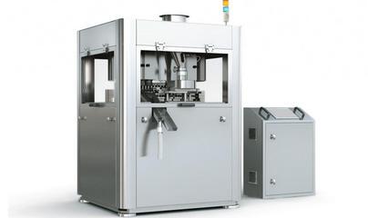 压片生产过程的三个重要组成部分:压片机、颗粒、模具