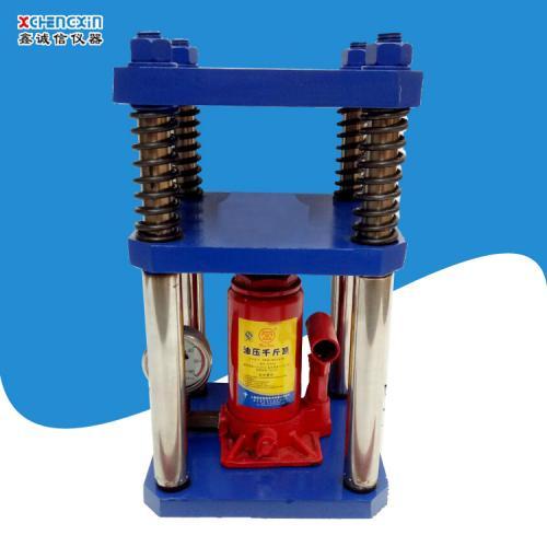 四柱5吨压片机 实验室粉末压力机